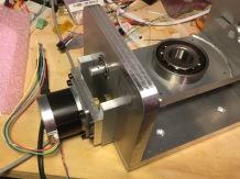 Tilting motor detail